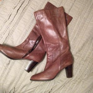 A.n.a. leather boots